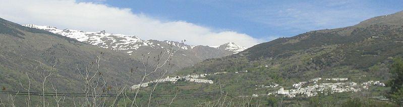 Barranco del Poqueira. Foto: Roberto Gallego. LaAlpujarra.es